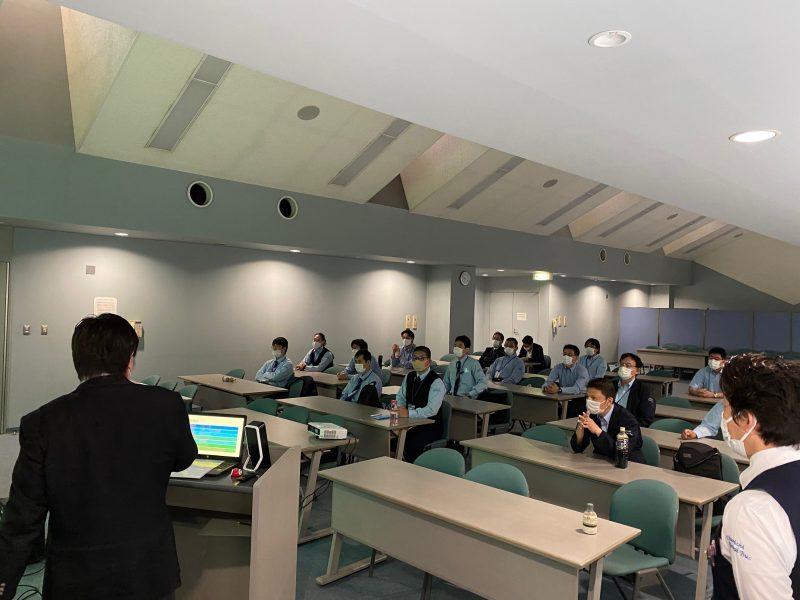【品川シーサイド営業所】安全講習・救命講習を実施しました。